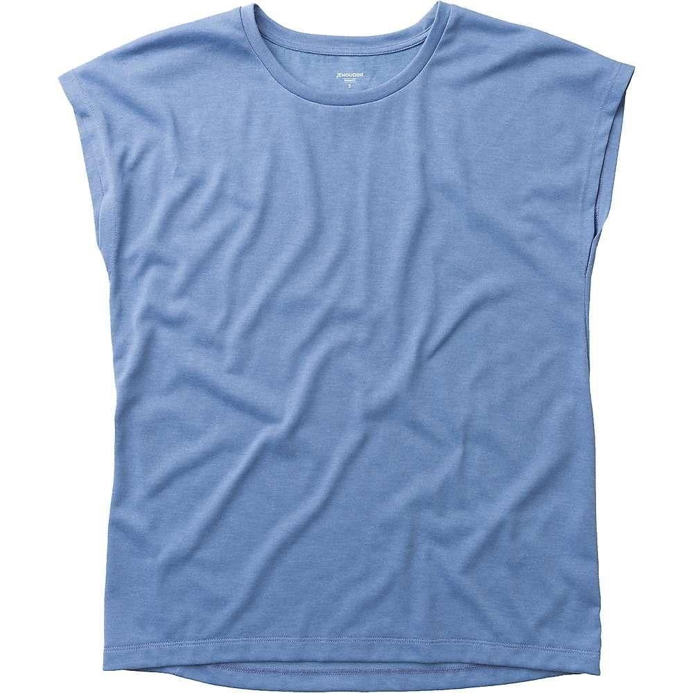 フーディニ Houdini レディース Tシャツ トップス【big up tee】skyhigh blue