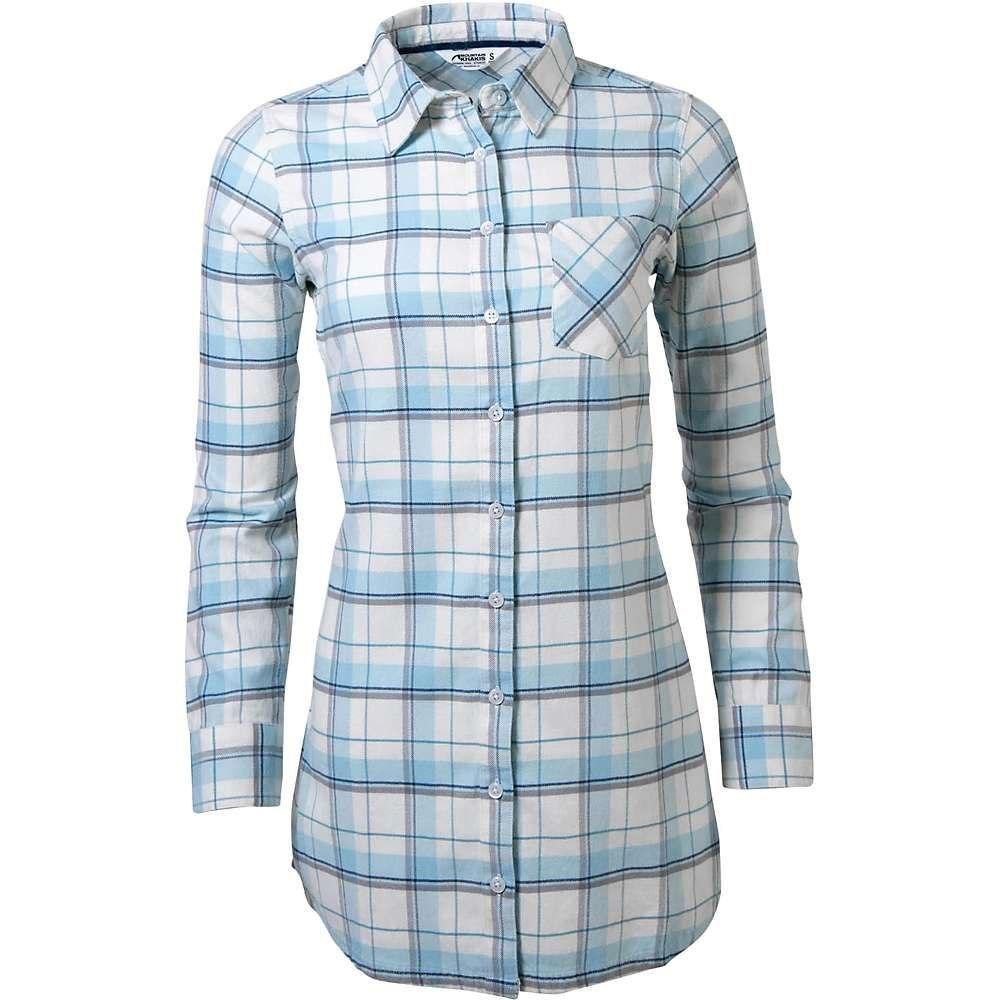 マウンテンカーキス Mountain Khakis レディース チュニック トップス【penny flannel tunic】Silver Blue