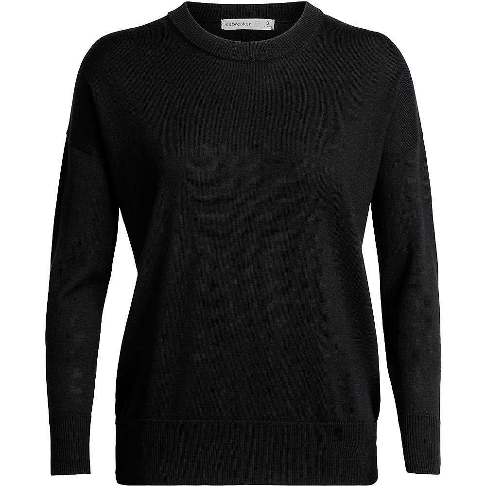 アイスブレーカー Icebreaker レディース ニット・セーター トップス【shearer crewe sweater】Black