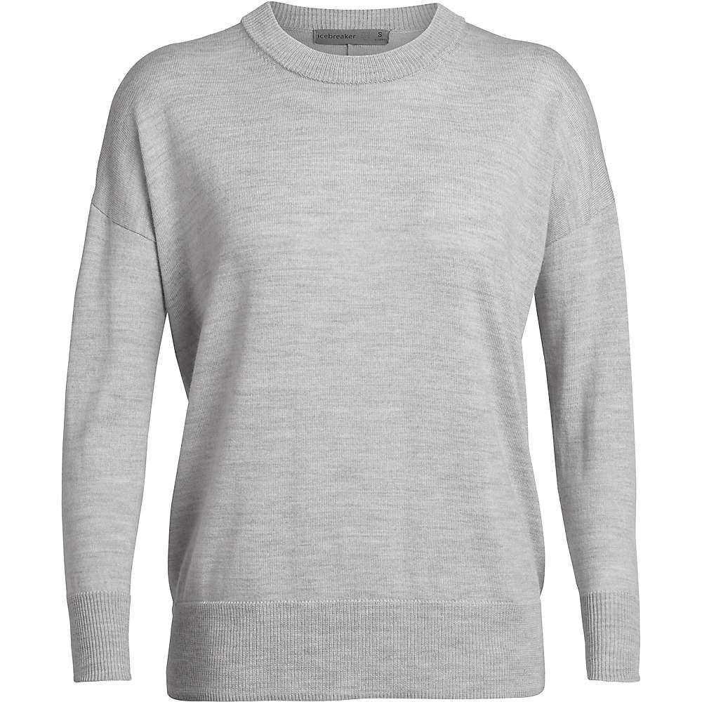 アイスブレーカー Icebreaker レディース ニット・セーター トップス【shearer crewe sweater】Steel Heather