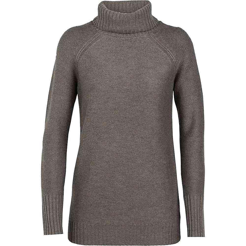 roll ニット・セーター sweater】Toast neck トップス【waypoint Heather アイスブレーカー レディース Icebreaker