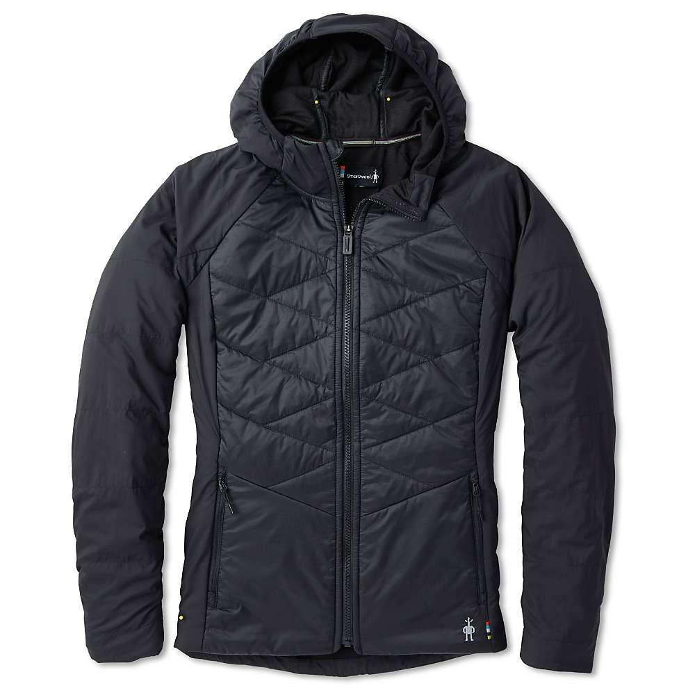 スマートウール Smartwool レディース パーカー トップス【smartloft-x 60 full zip hoodie】Black