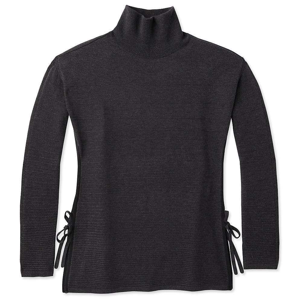 スマートウール Smartwool レディース チュニック トップス【spruce creek tunic sweater】Charcoal Heather