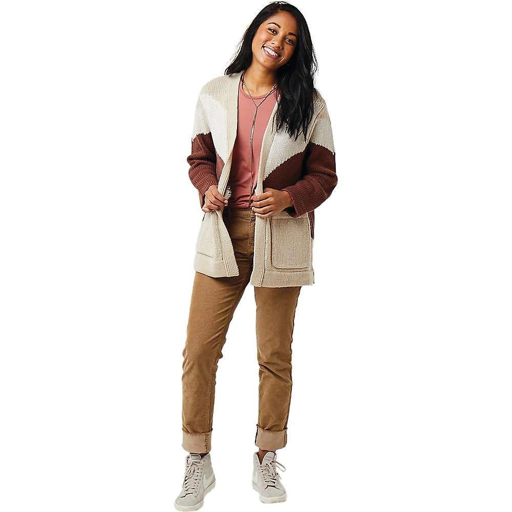 カーヴデザイン Carve Designs レディース ニット・セーター トップス【idlewood sweater】Cement Heather