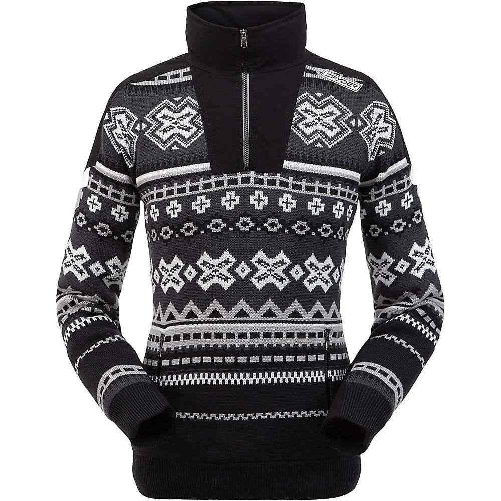 スパイダー Spyder レディース ニット・セーター トップス【legacy gtx infinium lined half zip sweater】Black