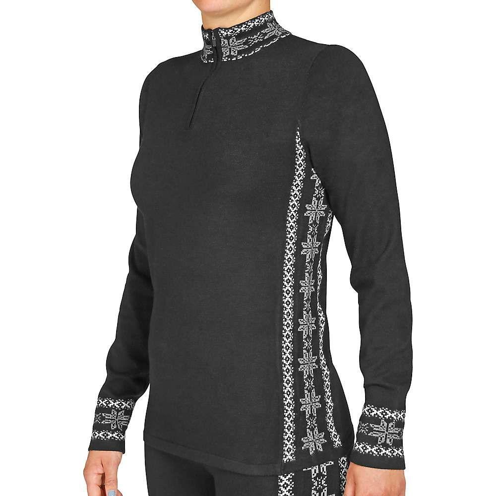 ホットチリーズ Hot Chillys レディース ニット・セーター トップス【sweater knit zip-t】Sideline/Black