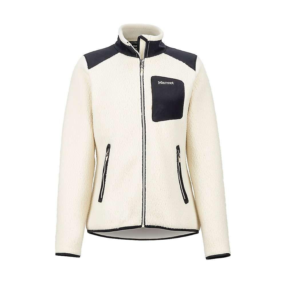 マーモット Marmot レディース フリース トップス【wiley jacket】Cream/Black