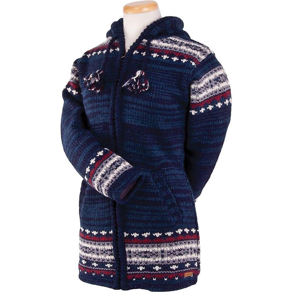 ランドロマット Laundromat レディース フリース トップス【elizabeth fleece lined sweater】Indigo