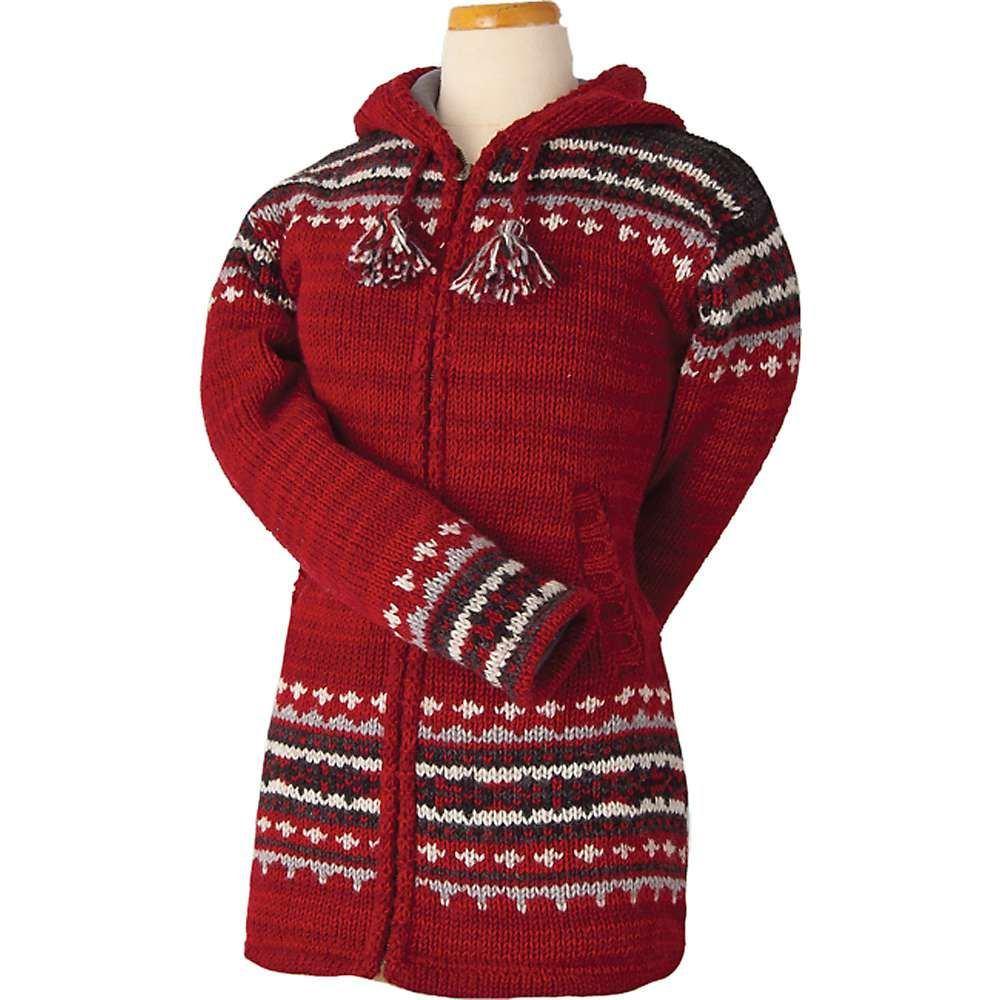 ランドロマット Laundromat レディース フリース トップス【elizabeth fleece lined sweater】Scarlet