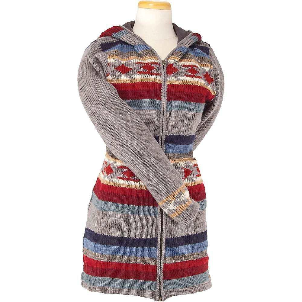 ランドロマット Laundromat レディース フリース トップス【santa rosa fleece lined sweater】Pewter