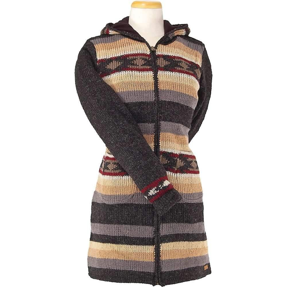 ランドロマット Laundromat レディース フリース トップス【santa rosa fleece lined sweater】Black Natural
