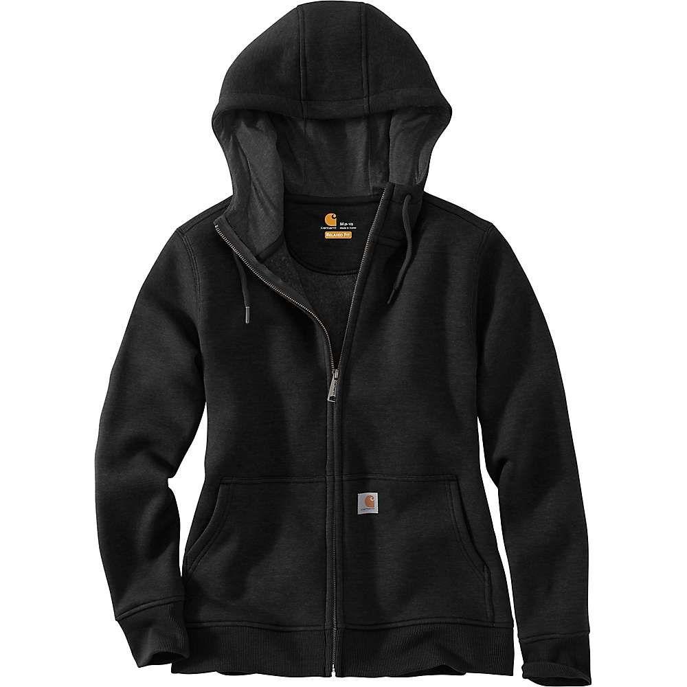 カーハート Carhartt レディース パーカー トップス【clarksburg full zip hoodie】Black