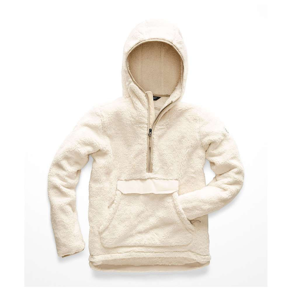 ザ ノースフェイス The North Face レディース フリース トップス【campshire pullover hoodie】Vintage White/Peyote Beige