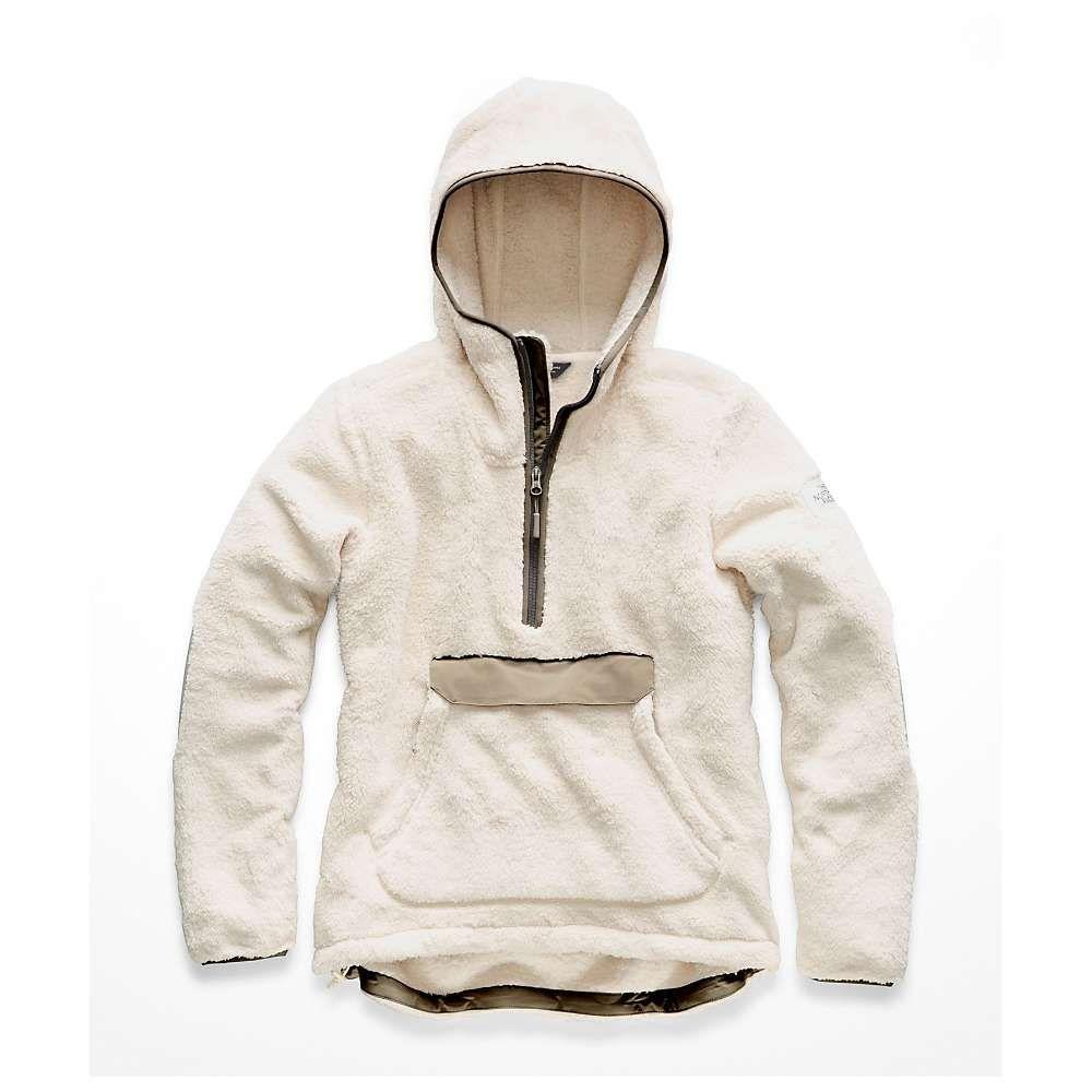 ザ ノースフェイス The North Face レディース フリース トップス【campshire pullover hoodie】Vintage White/Silt Grey