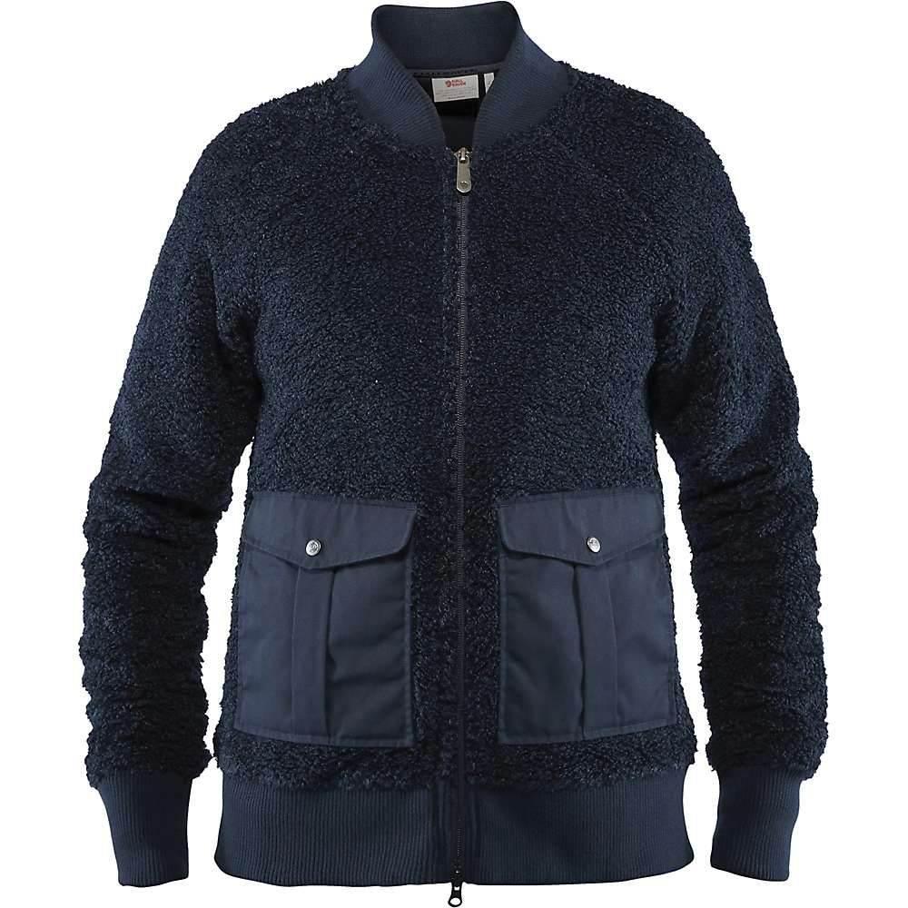 フェールラーベン Fjallraven レディース フリース トップス【greenland pile fleece jacket】Night Sky