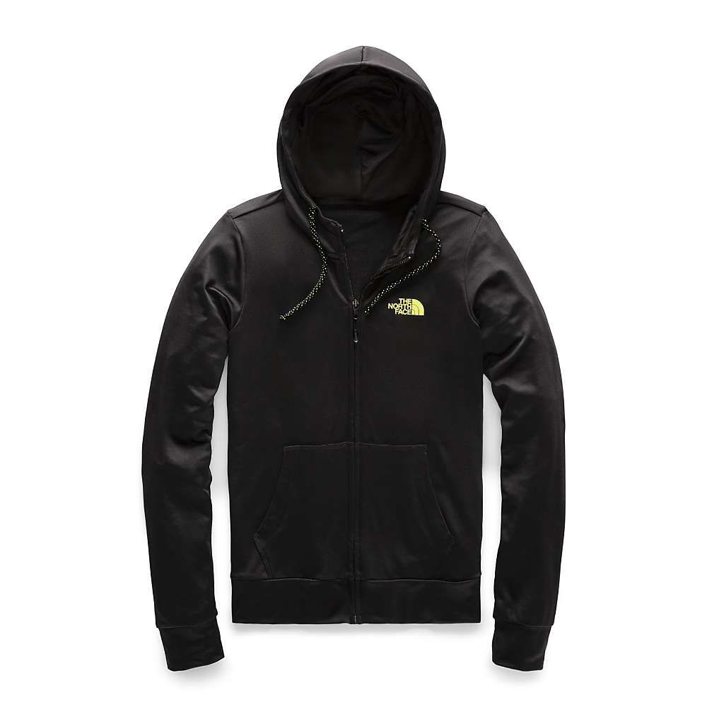 ザ ノースフェイス The North Face レディース パーカー トップス【fave lite lfc full zip hoodie】TNF Black/Exotic Green