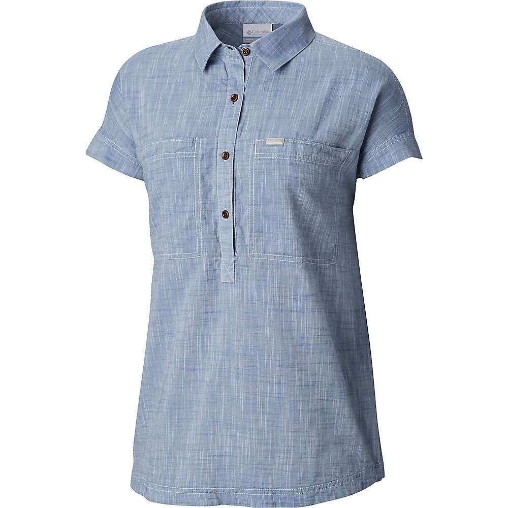 コロンビア Columbia レディース ブラウス・シャツ トップス【pinnacle peak popover shirt】Blue Dusk Chambray