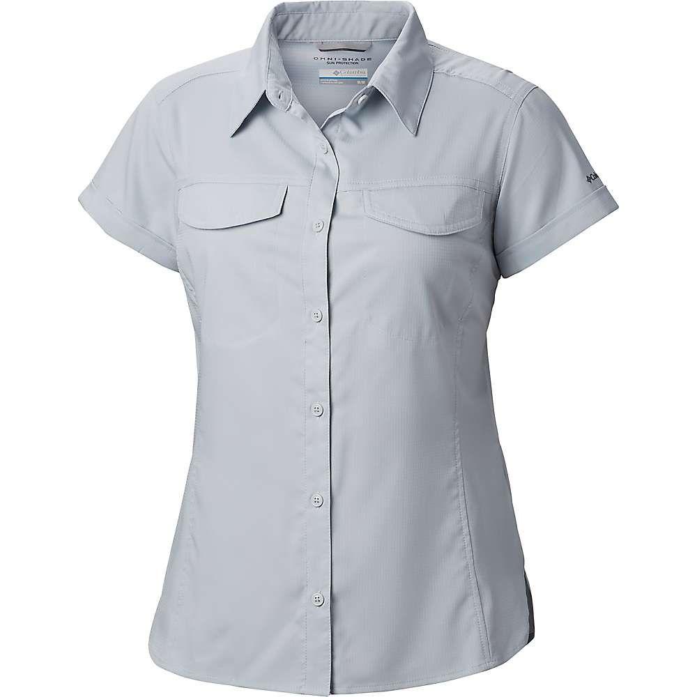 コロンビア Columbia レディース ブラウス・シャツ トップス【silver ridge lite ss shirt】Cirrus Grey