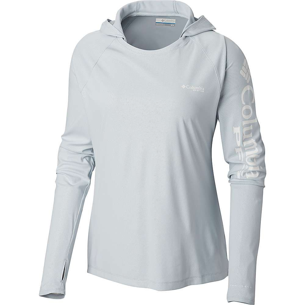 コロンビア Columbia レディース パーカー トップス【tidal deflector hoodie】Cirrus Grey