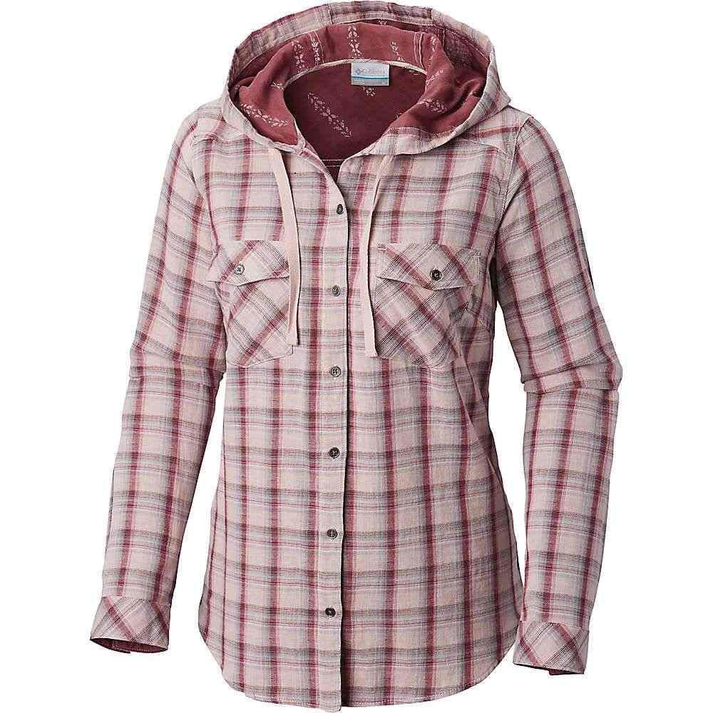 コロンビア Columbia レディース ブラウス・シャツ トップス【times two hooded ls shirt】Mineral Pink