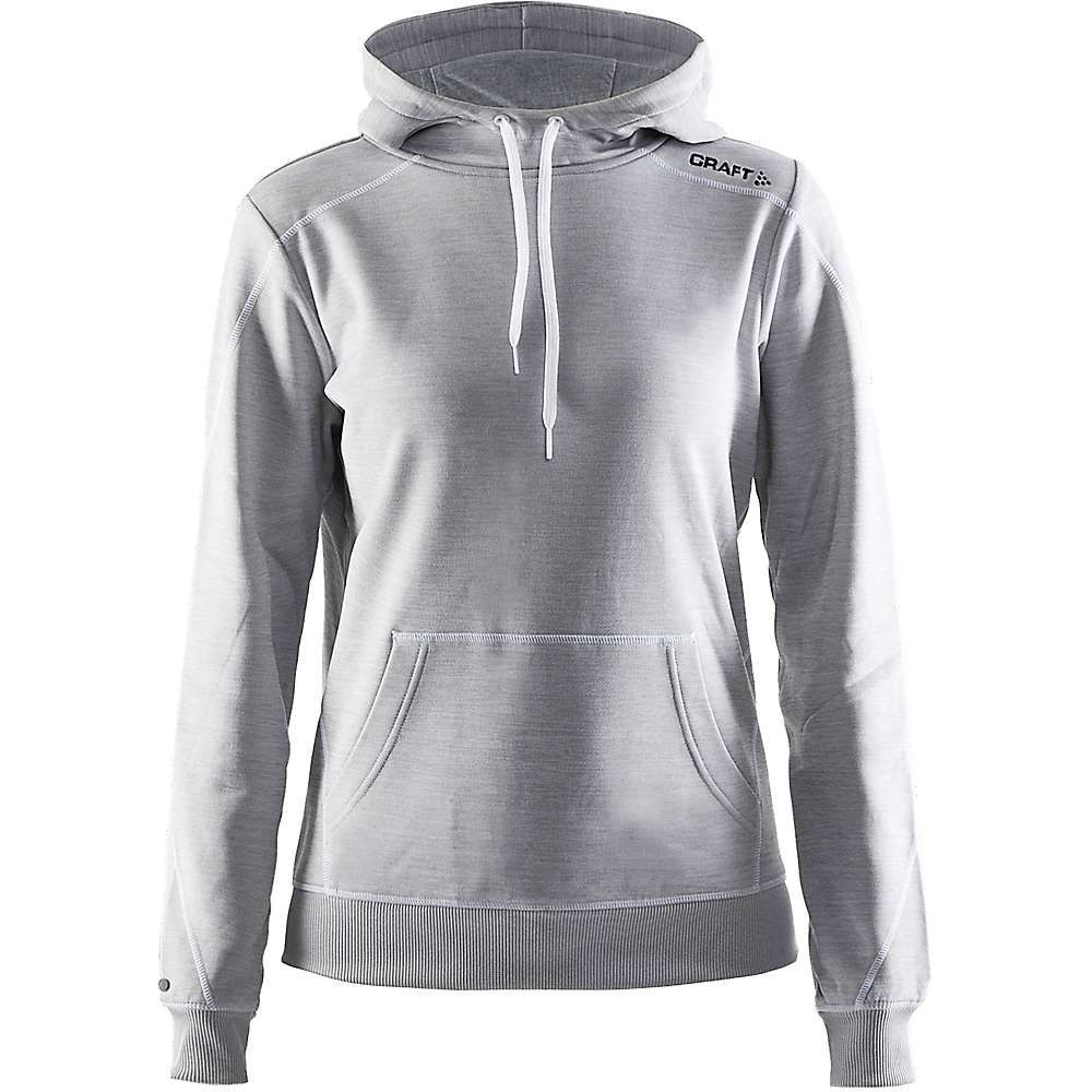クラフト Craft Sportswear レディース パーカー トップス【craft in-the-zone hoodie】Grey Melange