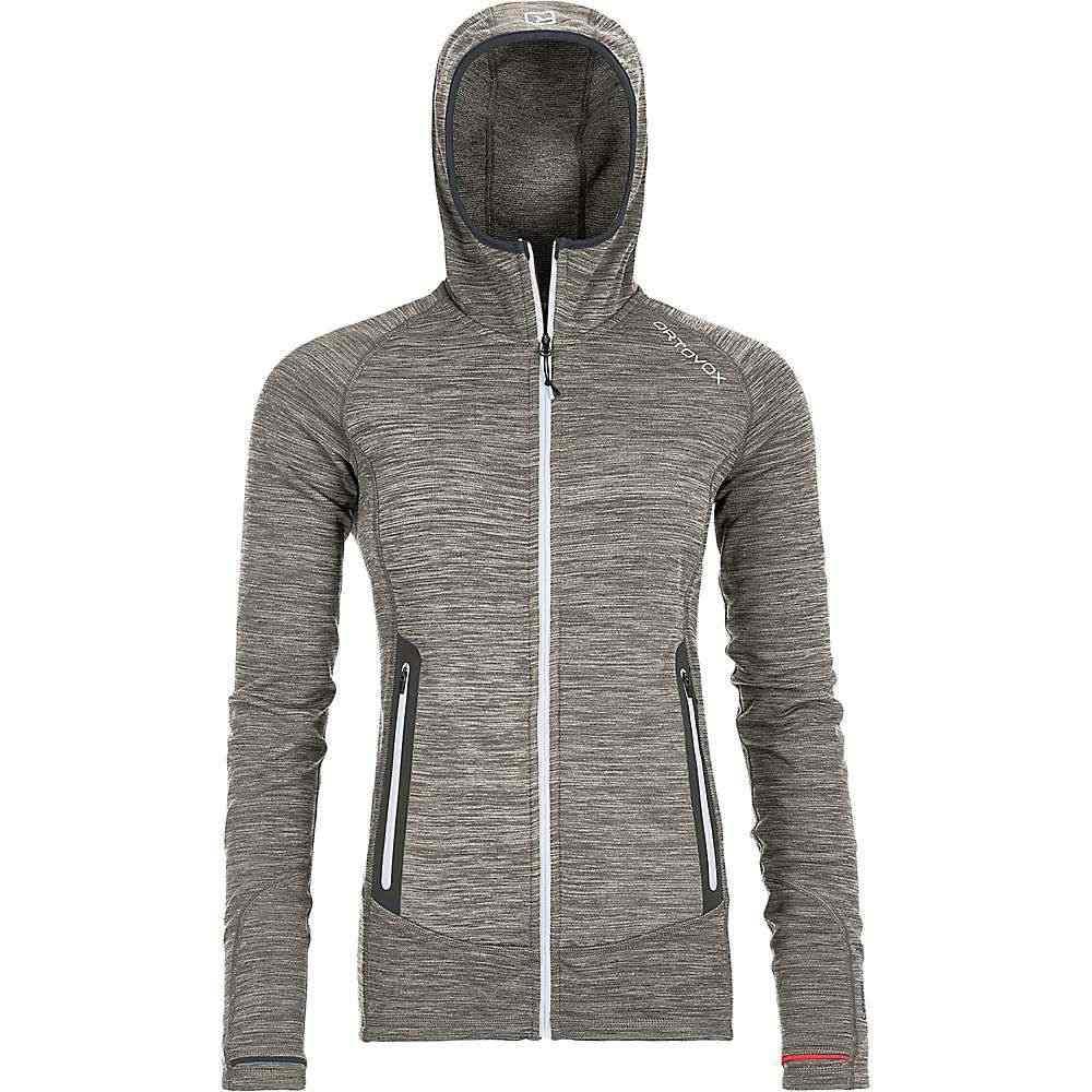 オルトボックス Ortovox レディース フリース トップス【fleece light melange hoody】Grey Blend