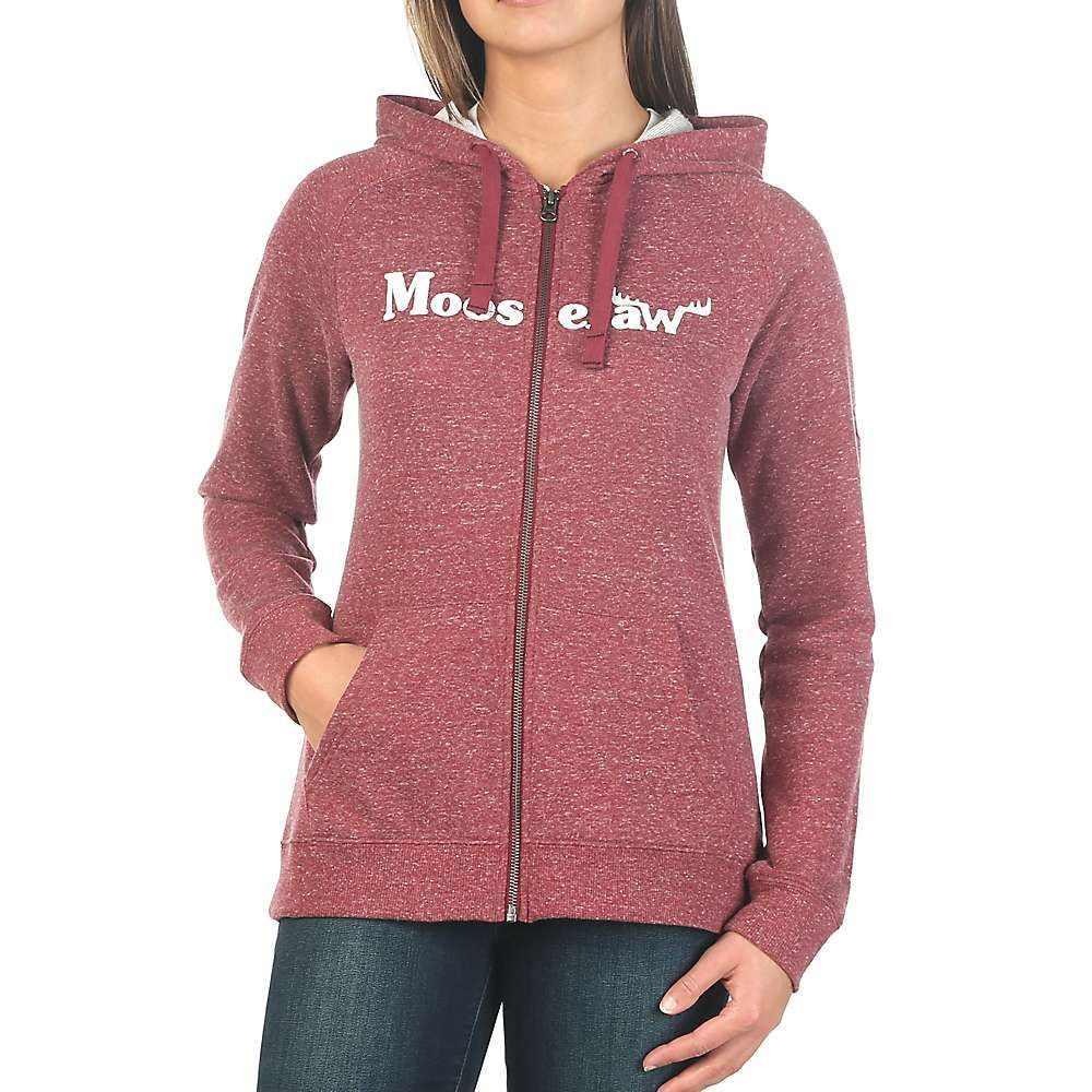 ムースジョー Moosejaw レディース パーカー トップス【vintage original zip hoody】Heather Maroon