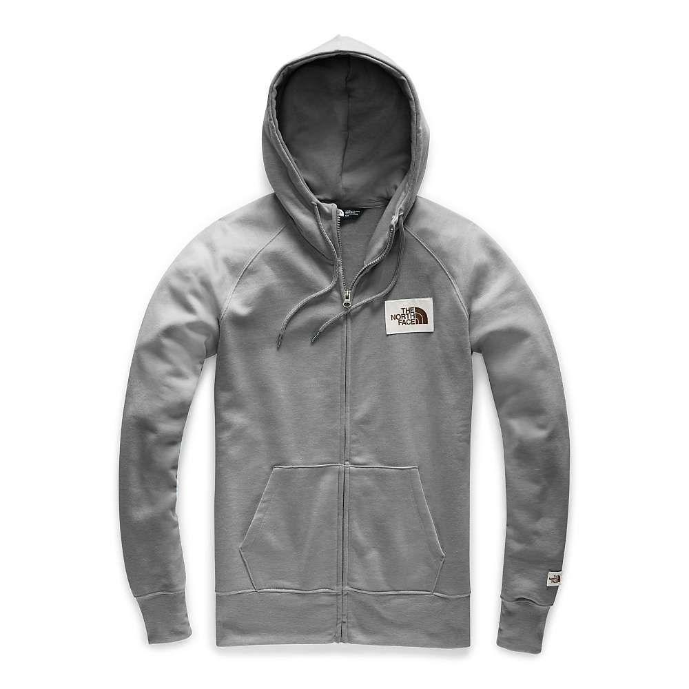 ザ ノースフェイス The North Face レディース パーカー トップス【heritage full zip hoodie】TNF Medium Grey Heather