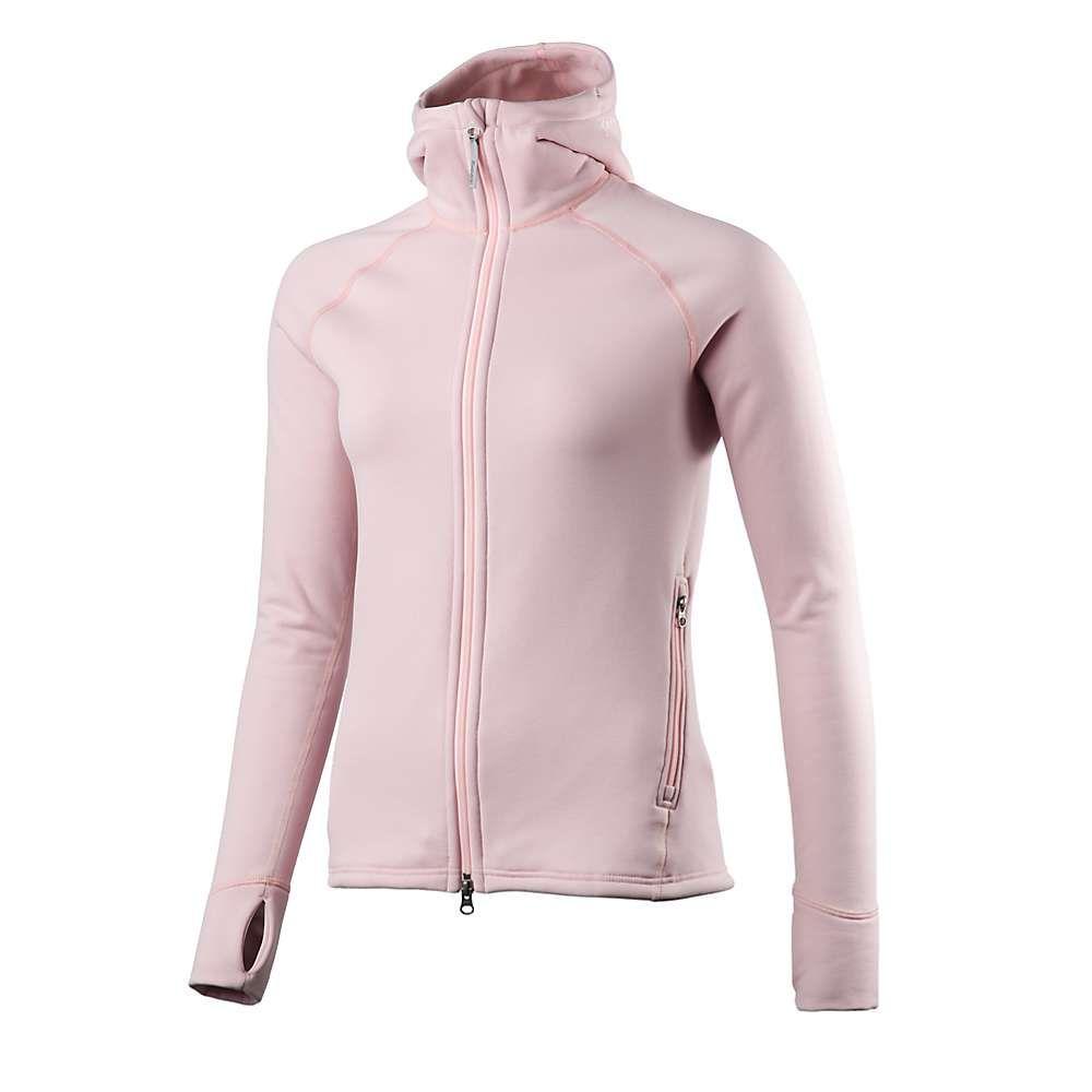 フーディニ Houdini レディース フリース トップス【power houdi jacket】pink moon