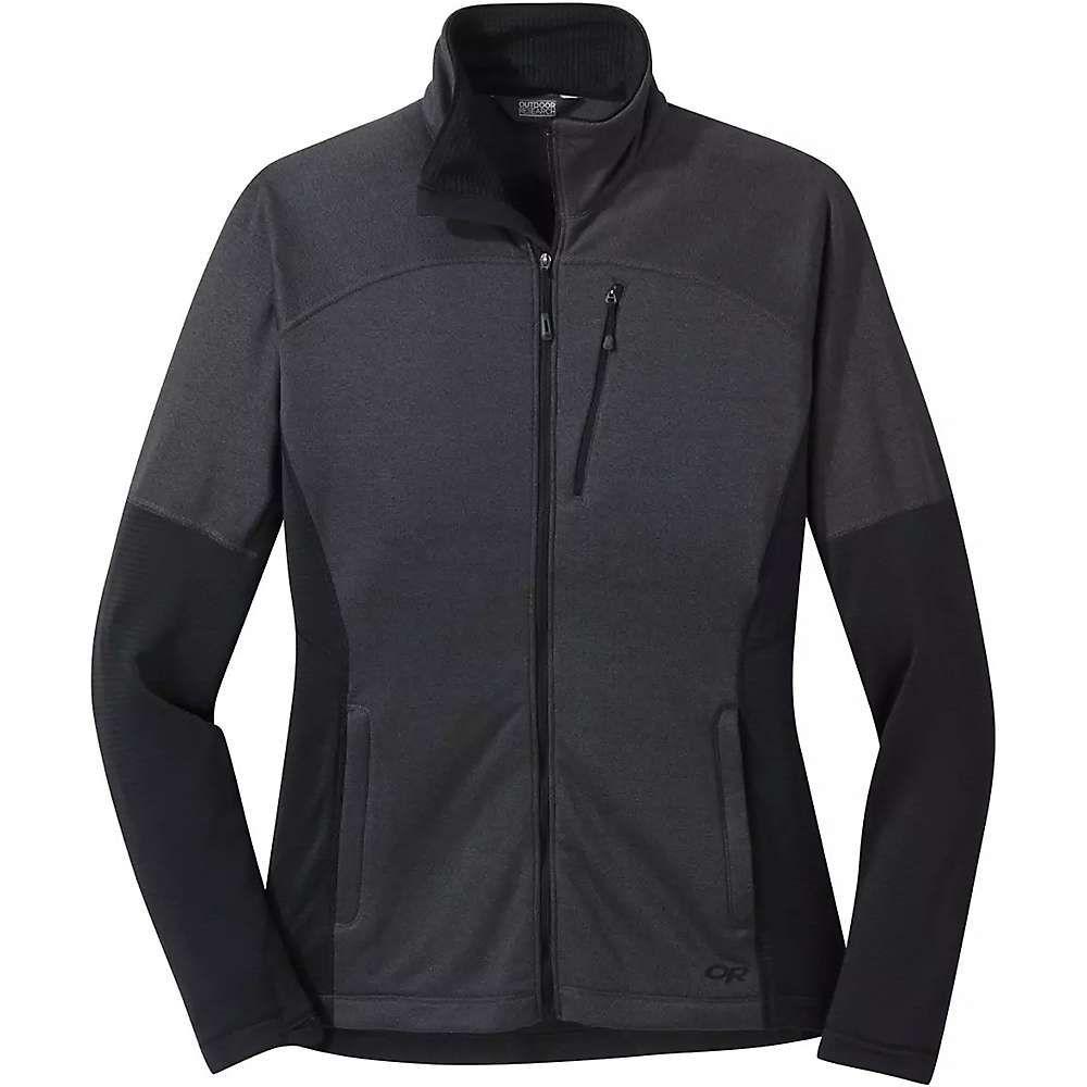 アウトドアリサーチ Outdoor Research レディース フリース トップス【vigor full zip jacket】Storm Heather