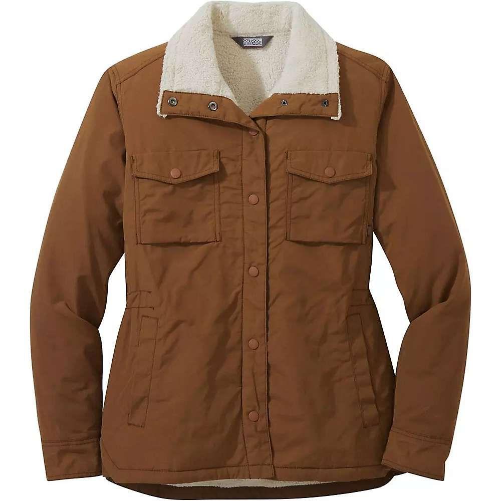 アウトドアリサーチ Outdoor Research レディース ジャケット シャツジャケット アウター【wilson shirt jacket】Saddle