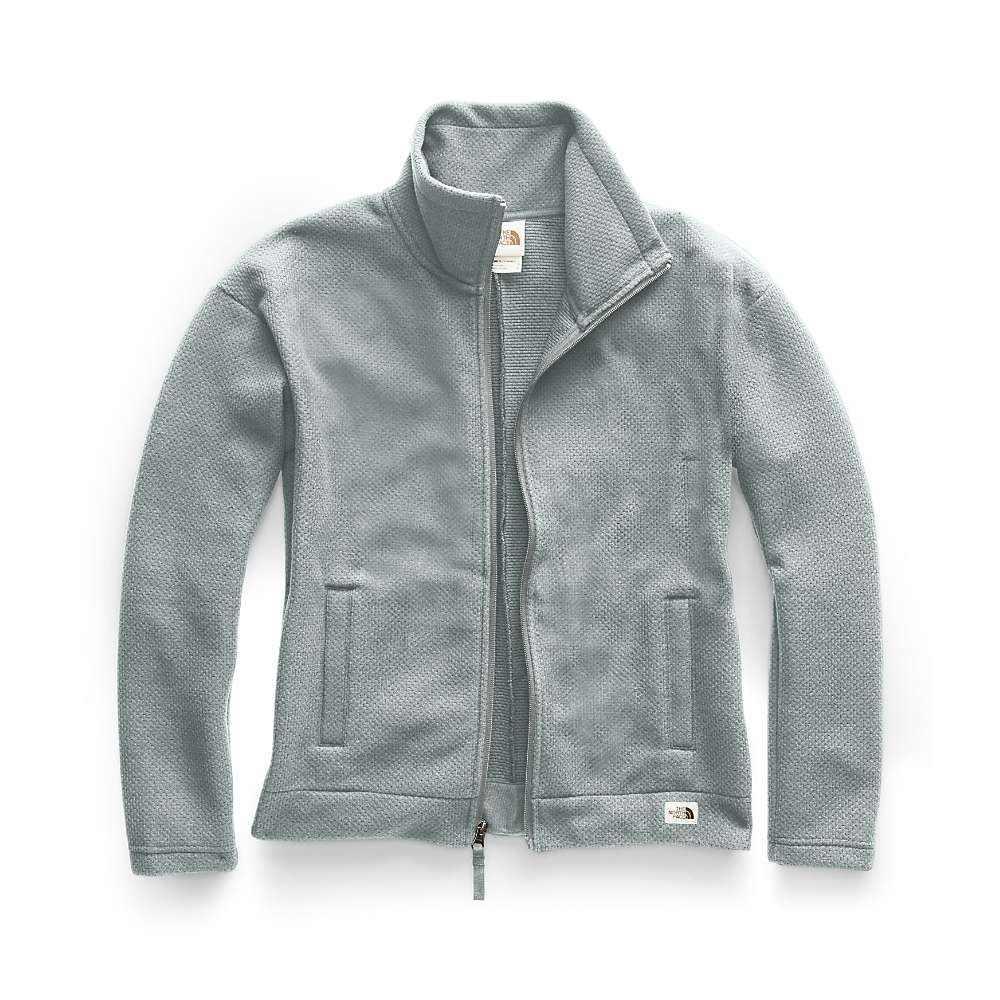ザ ノースフェイス The North Face レディース フリース トップス【sibley fleece full zip jacket】Meld Grey Heather