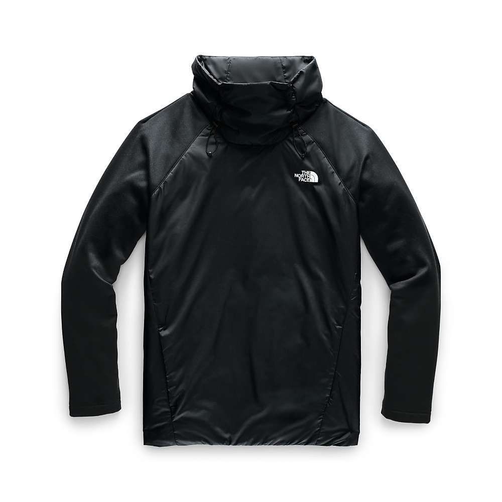 ザ ノースフェイス The North Face レディース フリース トップス【canyonlands insulated hybrid pullover】TNF Black/TNF Black
