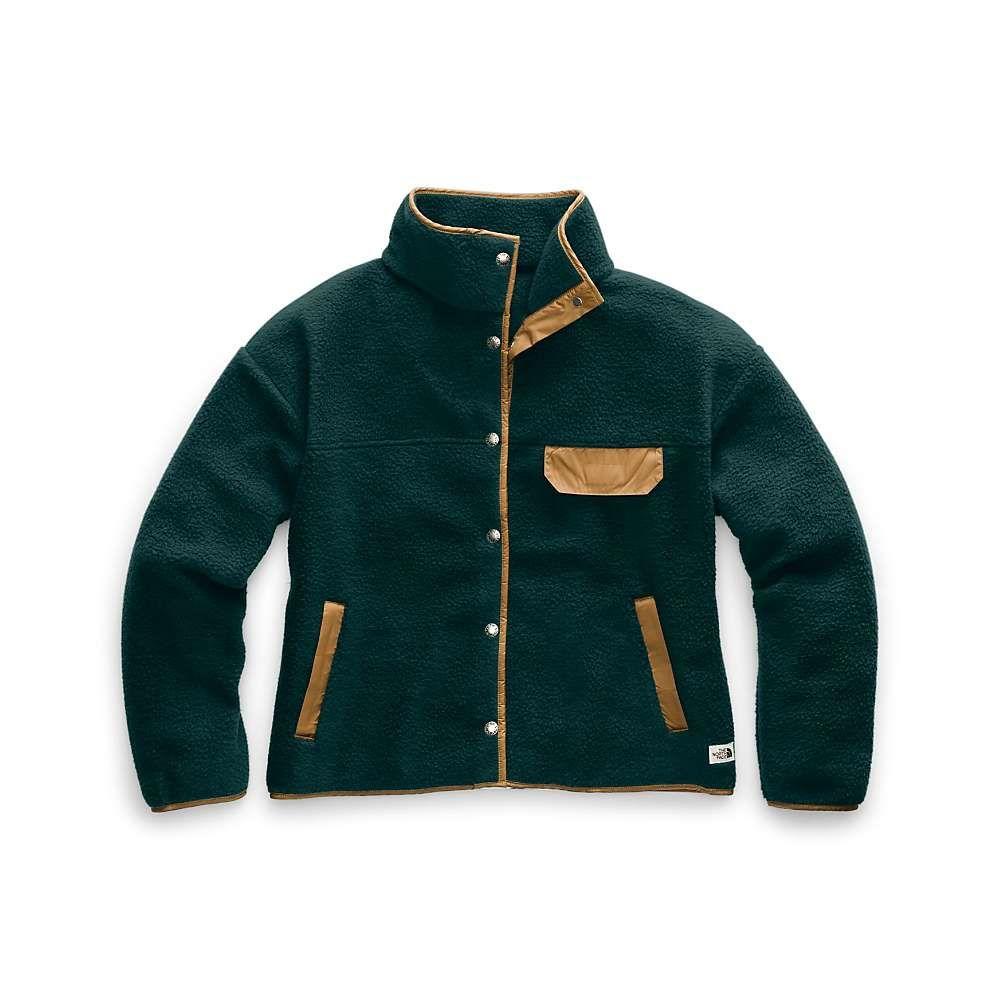ザ ノースフェイス The North Face レディース フリース トップス【cragmont fleece jacket】Ponderosa Green/Cedar Brown