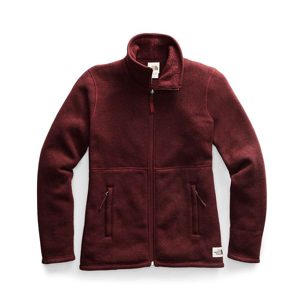 ザ ノースフェイス The North Face レディース フリース トップス【crescent full zip jacket】Deep Garnet Red Heather