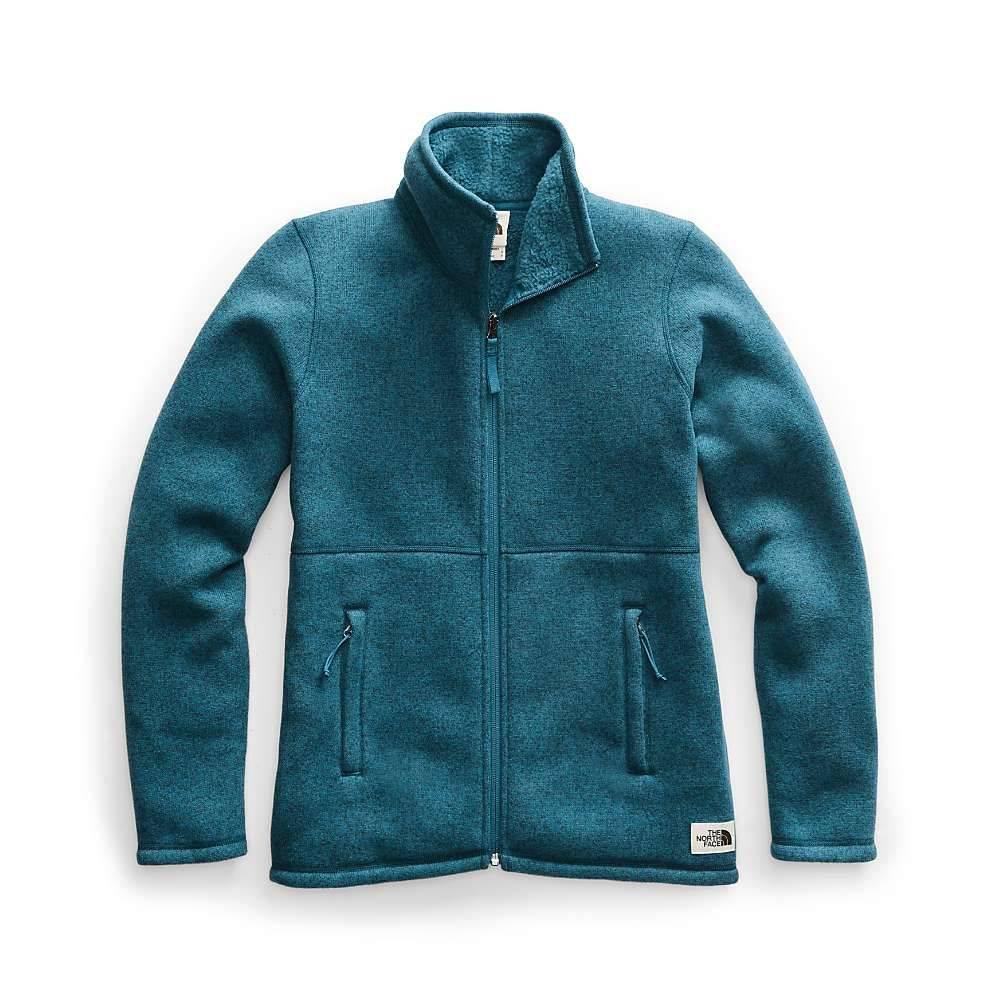 ザ ノースフェイス The North Face レディース フリース トップス【crescent full zip jacket】Blue Coral Black Heather