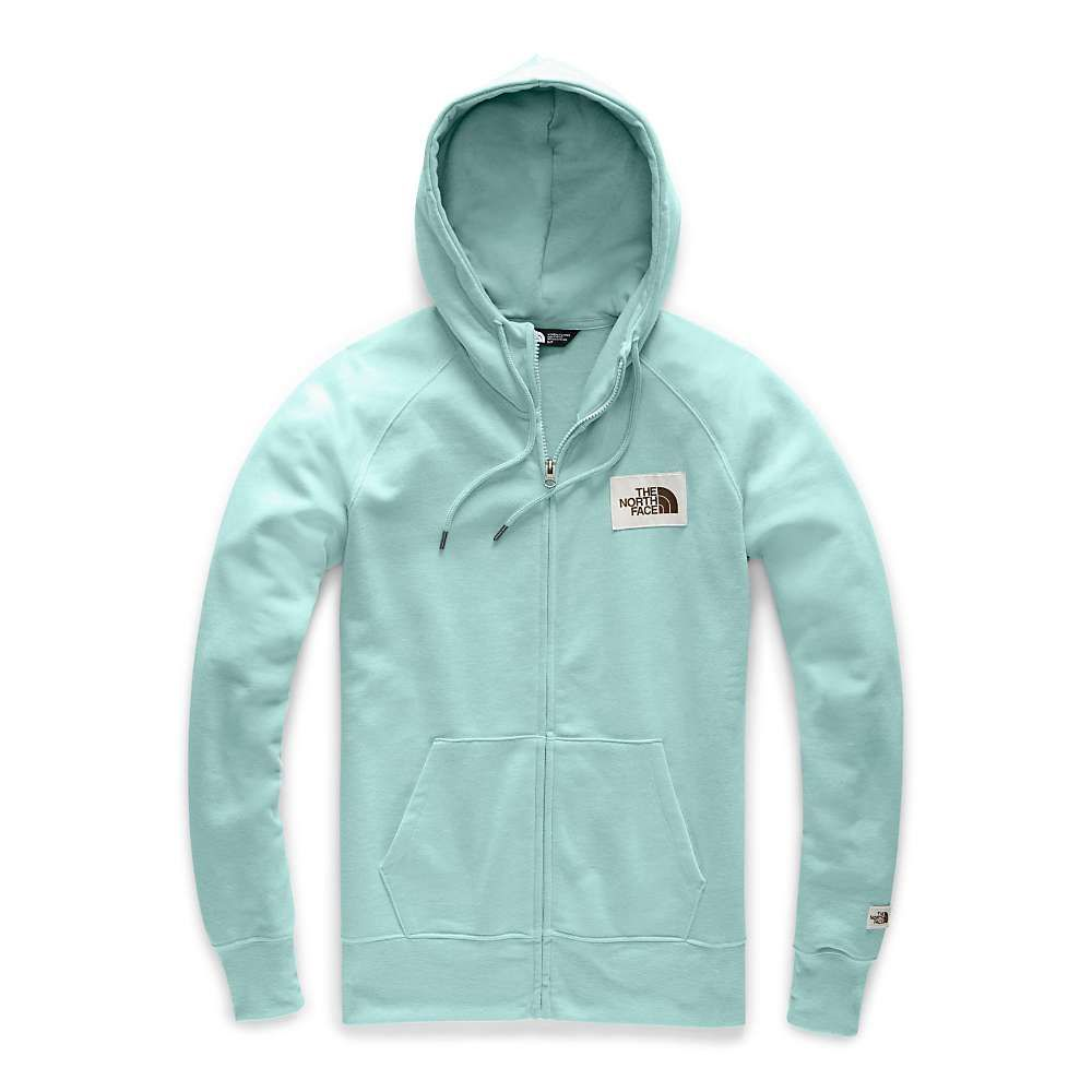 ザ ノースフェイス The North Face レディース パーカー トップス【heritage full zip hoodie】Windmill Blue Heather