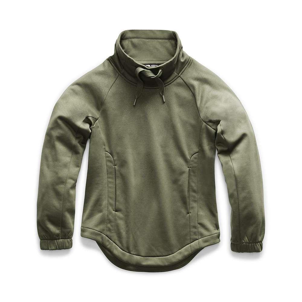 ザ ノースフェイス The North Face レディース フリース トップス【jazzer pullover funnel neck top】Burnt Olive Green