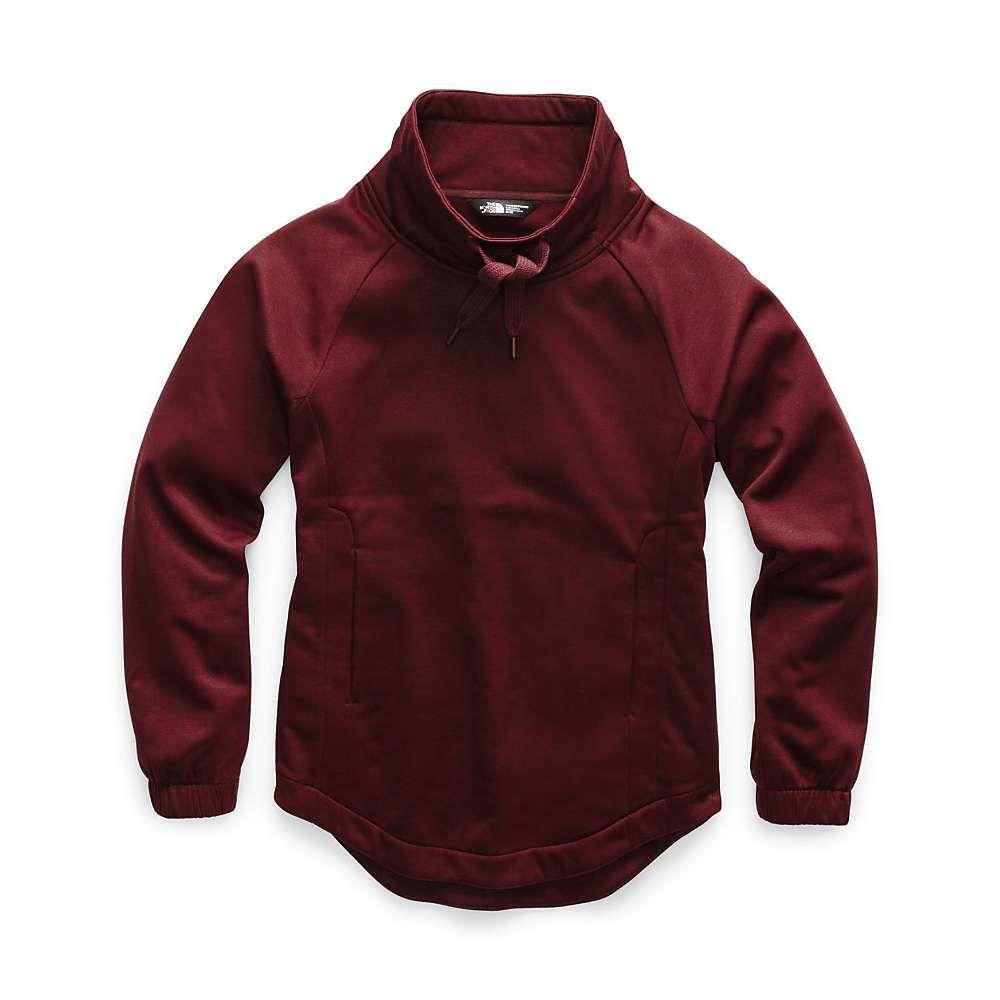 ザ ノースフェイス The North Face レディース フリース トップス【jazzer pullover funnel neck top】Deep Garnet Red