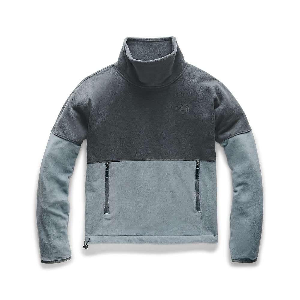 ザ ノースフェイス The North Face レディース フリース トップス【tka glacier funnel-neck pullover】Mid Grey/Asphalt Grey