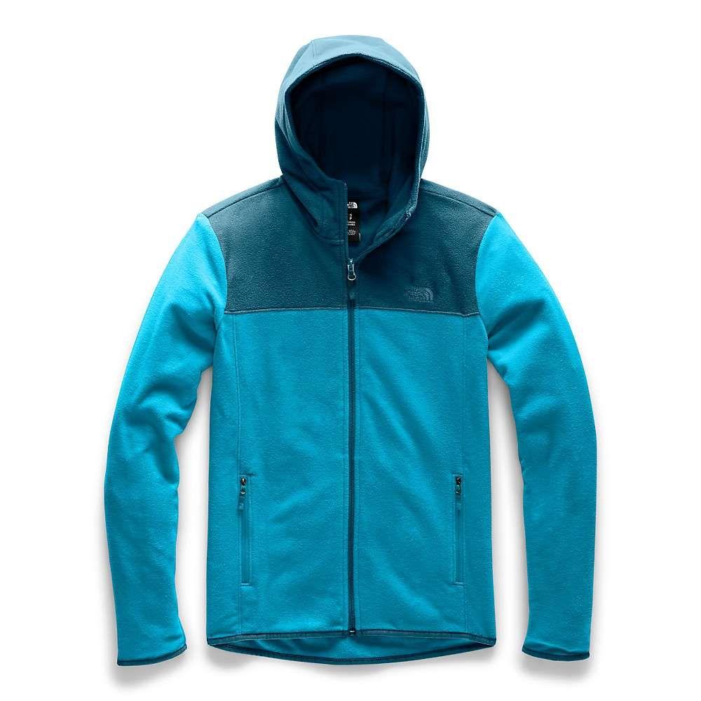 ザ ノースフェイス The North Face レディース フリース トップス【tka glacier full zip hoodie】Barrier Reef Blue/Blue Coral