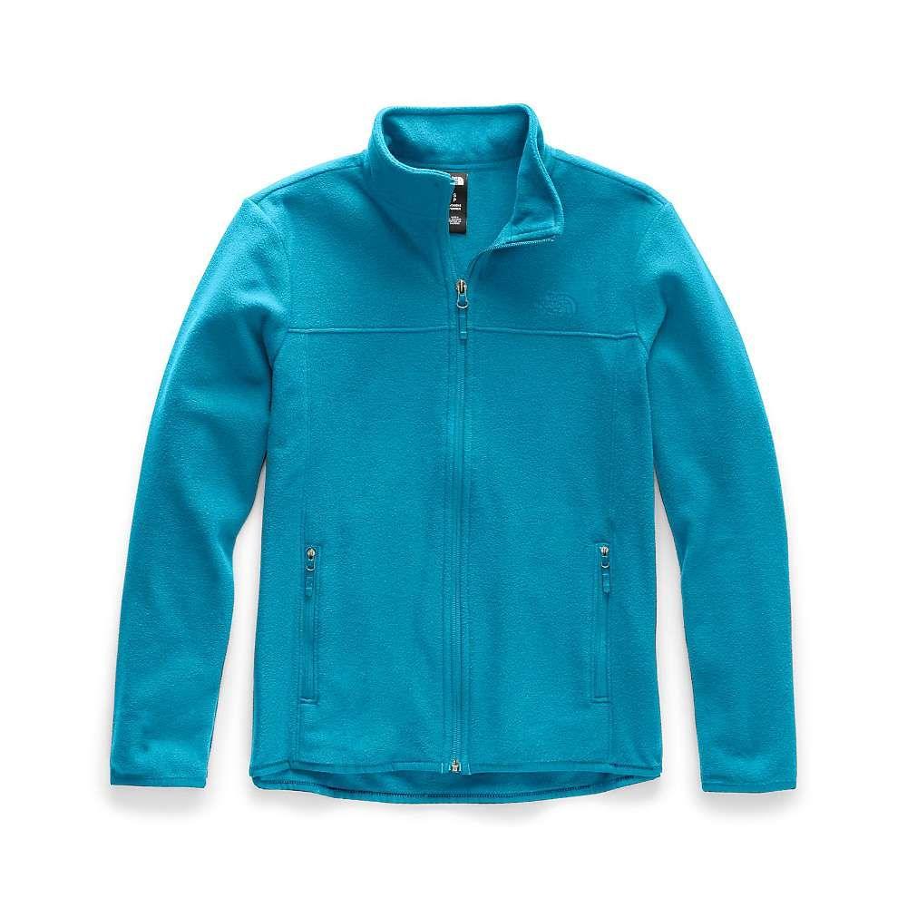 ザ ノースフェイス The North Face レディース フリース トップス【tka glacier full zip jacket】Barrier Reef Blue/Barrier Reef Blue