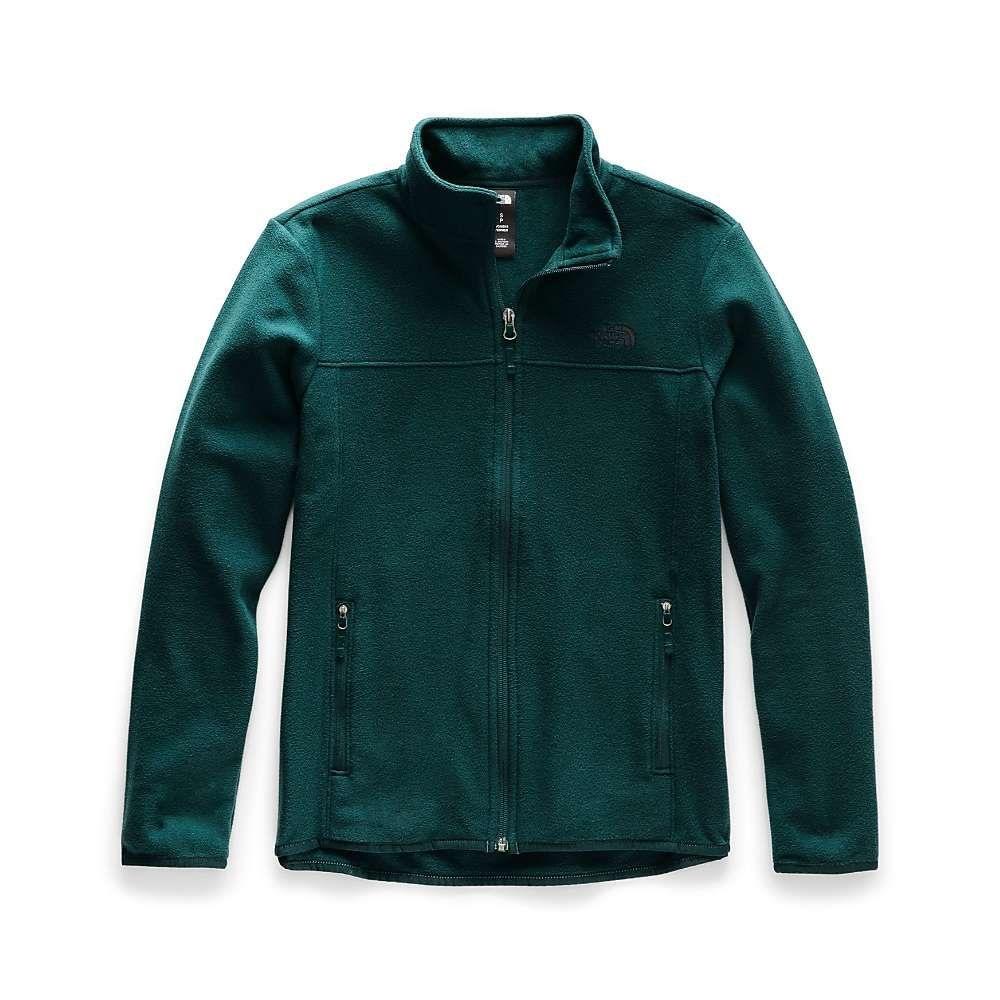 ザ ノースフェイス The North Face レディース フリース トップス【tka glacier full zip jacket】Ponderosa Green/Ponderosa Green