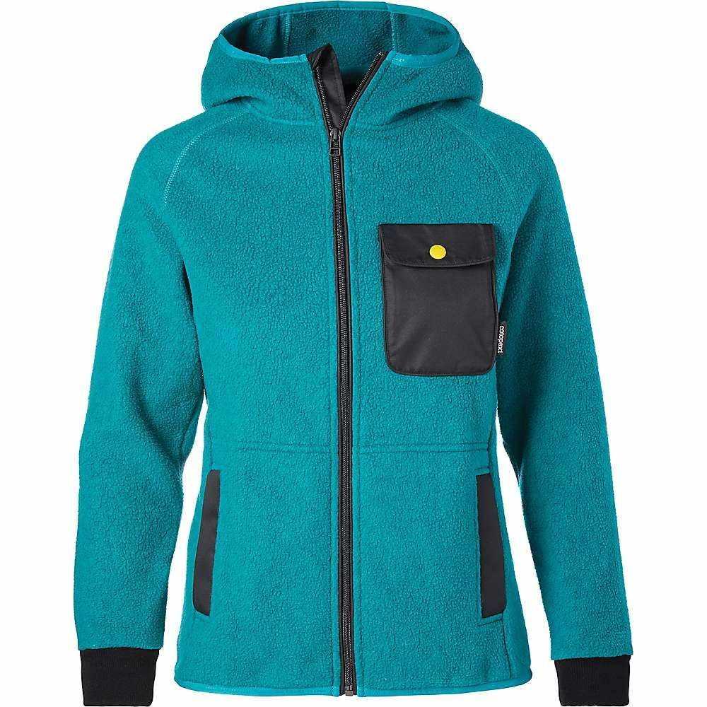 コトパクシ Cotopaxi レディース フリース フード トップス【cubre hooded full zip fleece jacket】Evergreen