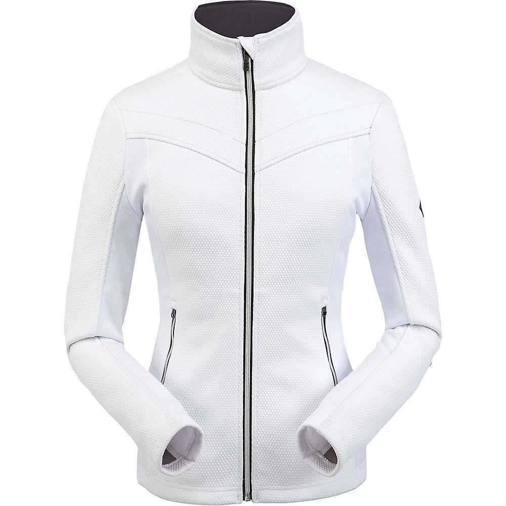 スパイダー Spyder レディース フリース トップス【encore full zip fleece jacket】White