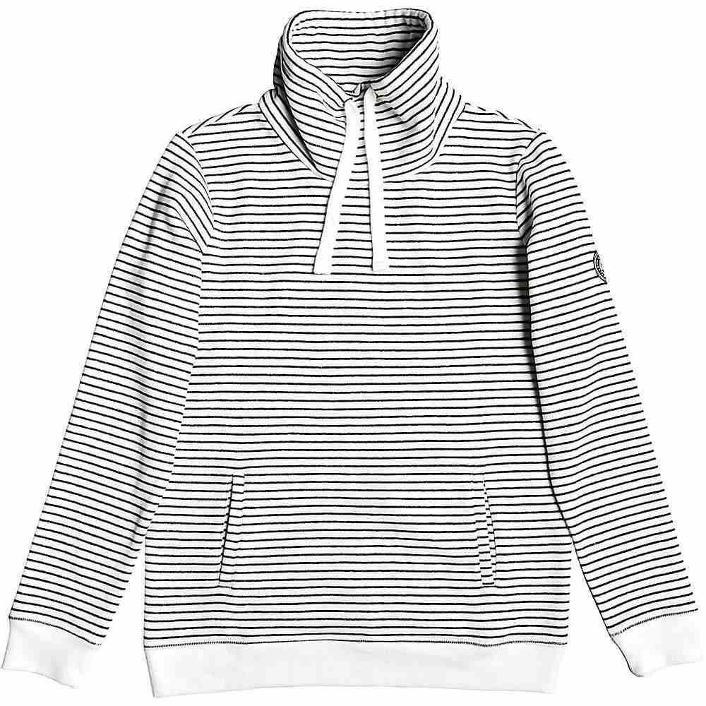 ロキシー Roxy レディース フリース トップス【worlds away stripe fleece top】Anthracite Marina Stripes
