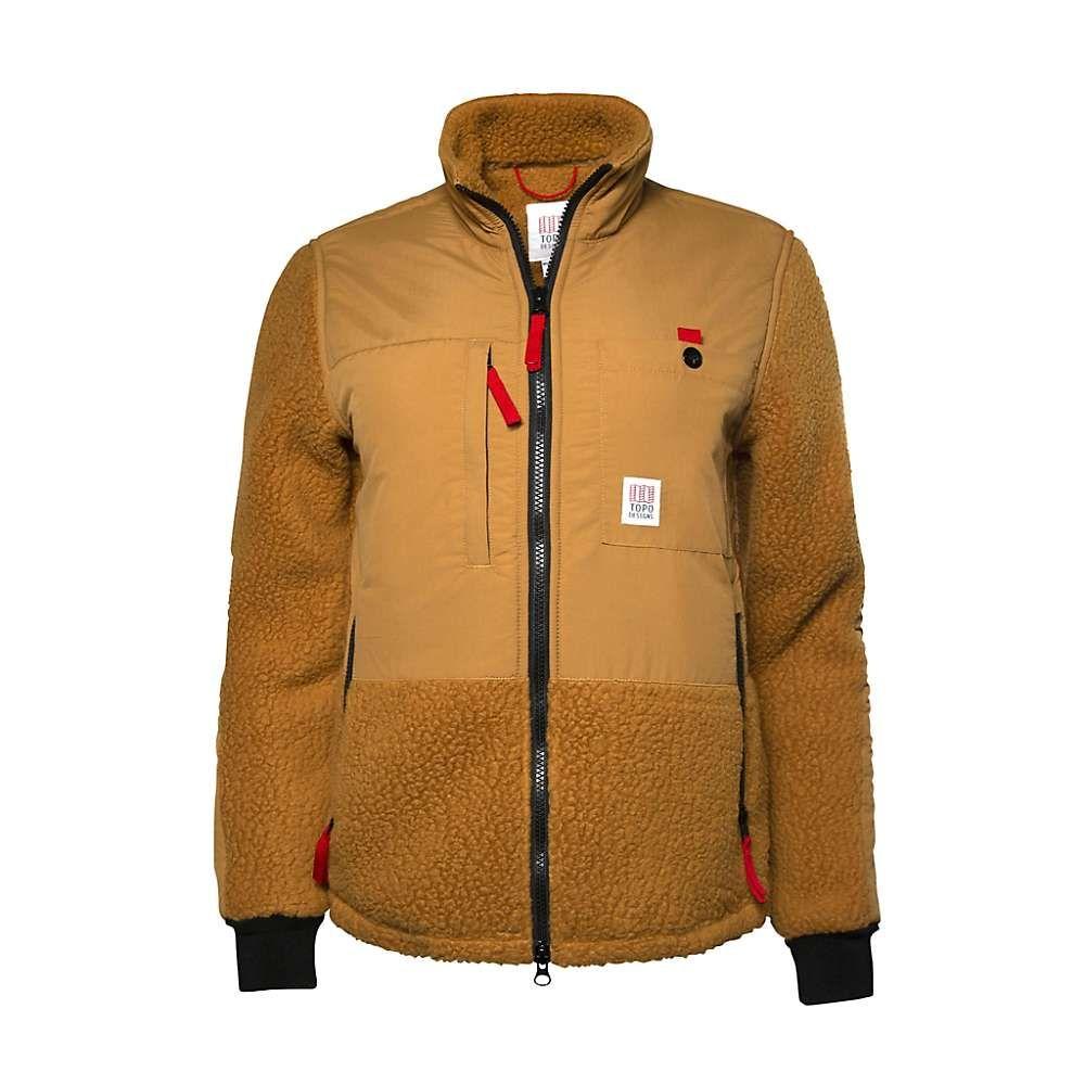 トポ デザイン Topo Designs レディース フリース トップス【subalpine fleece jacket】Khaki