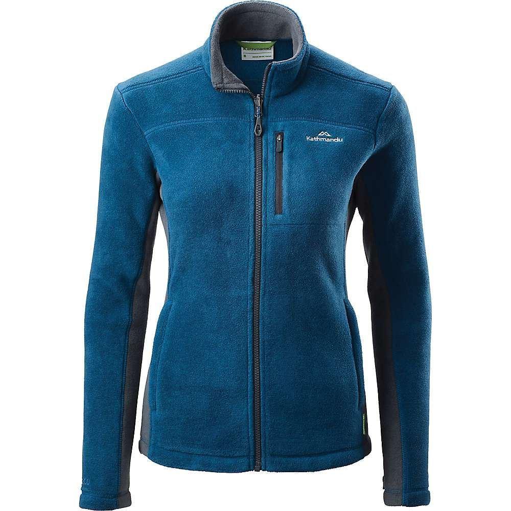 カトマンズ Kathmandu レディース フリース トップス【trailhead 200 jacket】Blue Teal