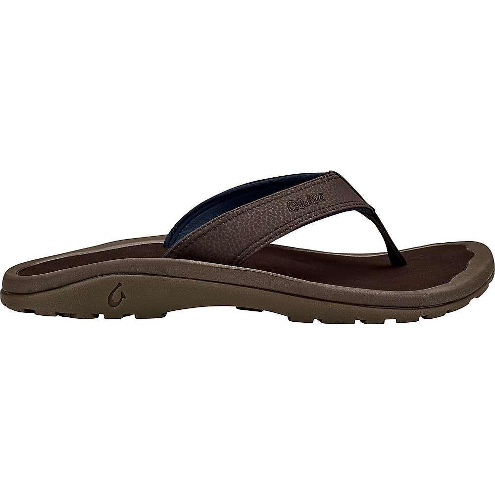 オルカイ OluKai メンズ サンダル シューズ・靴【'ohana sandal】Dark Wood/Dark Wood