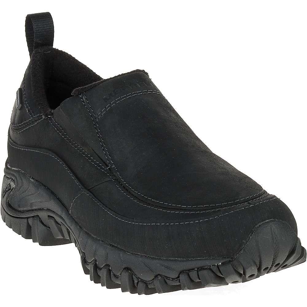 メレル メンズ シューズ・靴 スリッポン・フラット Black 【サイズ交換無料】 メレル Merrell メンズ スリッポン・フラット シューズ・靴【shiver moc 2 waterproof shoe】Black
